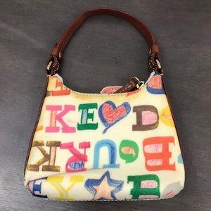 Dooney & Bourke Bags - Dooney & Bourke Colorful Print Mini Bag